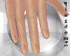 Natural nails W yellow