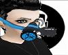 Respirator black/blue