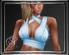 (SL) Wrap Top Blue