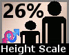 Height Scale 26% F A