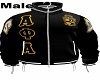 Alpha Frat Jacket male