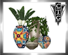CTG  4 POTTED PLANTS