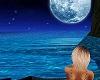 waiting under moon