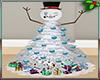 Kawaii Snowman Tree/deco