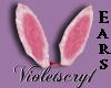 (V) Pink bunny ears