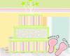 Boy or Girl Shower Cake
