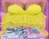 Yellow Ruffle Top