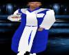 TEF BLUEWHITE CHIOR ROBE
