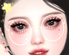 ♪ Glasses - White
