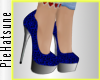 ~P; Precious Pumps Blue