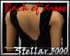[S3K]Drape Dress BLK