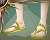 (II) Golden Sandals