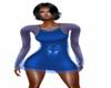 [KD45] EV2020 BLUE DRESS