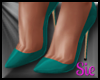 Pumps - Teal