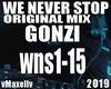 GONZI - We Never Stop