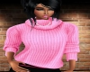 Pink Sweater *turtleneck