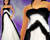BlackWhite Couture Gown