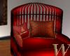 Christmas Kissing Chair