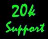 20k Support Sticker