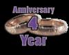 4 Year Anniversay