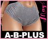 A-B-PLUS Short Grey 2