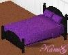 ~K~ Purple bed