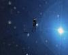 Space walk in a nebula