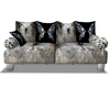 Black/Gray Couch w Poses
