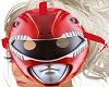 M/F Red Ranger Helmet