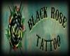 BlackRose back tattoo(F)