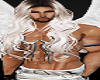 Male Angel Models Angels White LEather Pants