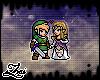 |Z| Link & Zelda Badge