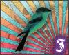 $I - bird necklace