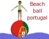 Beachball portugal