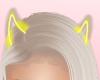 Yellow Neon Horns
