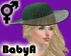! BA Green Diamonds Hat