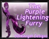 purple lightening arm/le