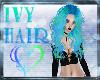 ivy Goddess blue & green