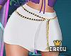 c. skirt w chains RL