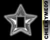 Chrome Star SS sticker