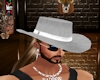 silver cowboy hat male