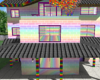 Rainbow Skittle House