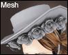 +Roses Hat+ Mesh