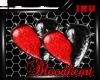 [I] Bloodheart Earrings
