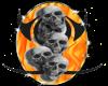 Triball Burning Skulls