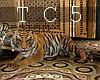Harem cuddle tiger