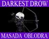 [M] Drow Bow & Arrows F