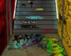 GRAFFITI STAIRWAY