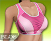 BLOS Fitness Top Pink