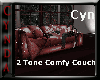 2 Tone Comfy Couch